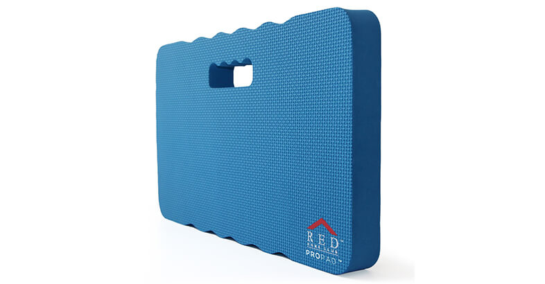 RED Home Club Thick Kneeling Pad For Gardening, Bath Kneeler For Baby Bath, Kneeling Mat For Exercise & Yoga EXTRA LARGE XL18x11, THICKES, Blue