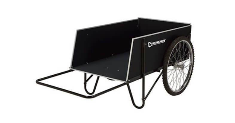Strongway Yard Cart 49 14in.L X 31in.W, 400 Lb., 14 Cu. Ft. Capacity