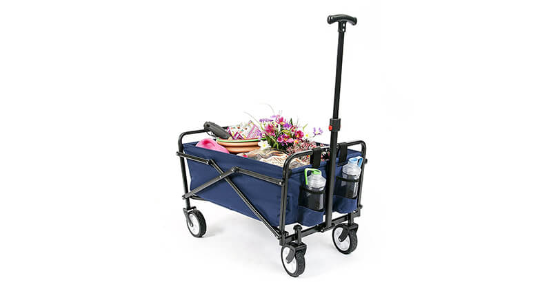 2790b220bc73 Top 10 Picks for Best Utility Garden Cart with Wheels 2019